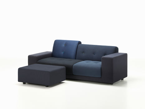 Night Blue Polder Ottoman by Vitra