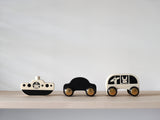 No Rush Car, Bus and Boat - Set of 3