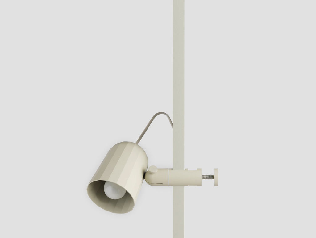 Noc Clamp Light By HAY