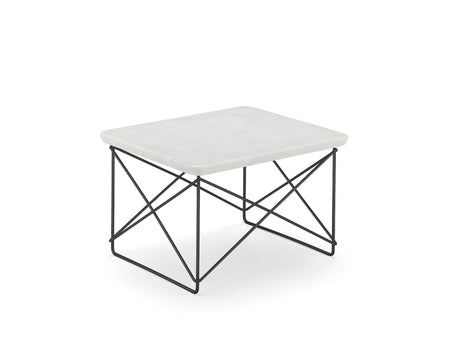 Vitra Eames LTR Occasional Table - Marble / Basic Dark
