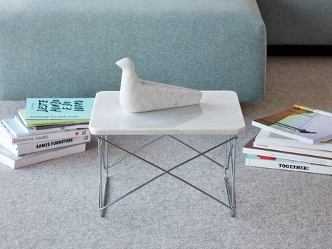 Vitra Eames LTR Occasional Table - Marble / Chrome
