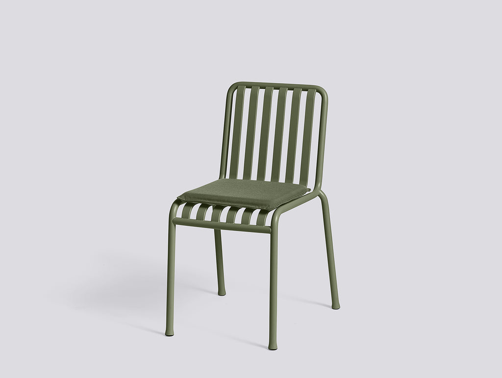 Olive Palissade Chair With Olive Cushion