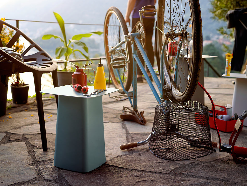 Vitra Metal Side Table.Outdoor Metal Side Table By Vitra