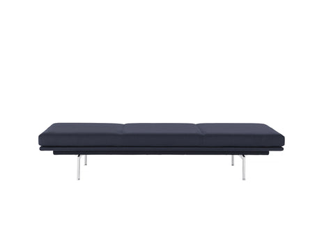 Outline Daybed Without Cushion in Vidar 554 / Aluminium Legs by Muuto