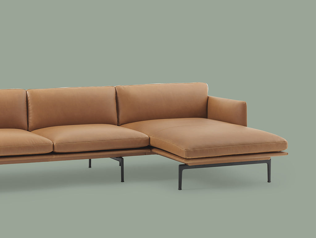 Outline Chaise Longue Sofa · Really Well Made