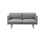 Outline Studio Sofa by Muuto, Fiord 151