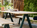 Overlap Outdoor Table