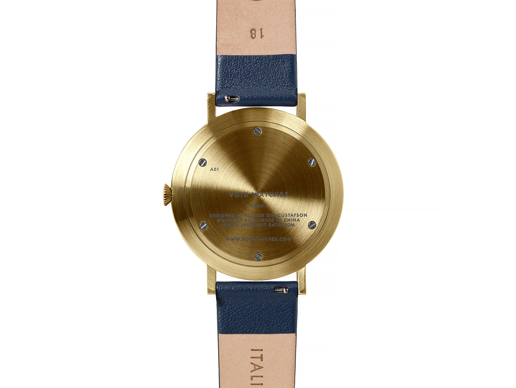 Void PKG01 Watch in Gold and Royal Blue