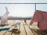 Pale Rose Eames Elephant by Vitra