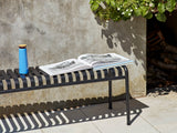 HAY Palissade Bench - Anthracite