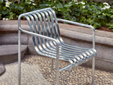 HAY Palissade Dining Armchair - Hot Galvanised