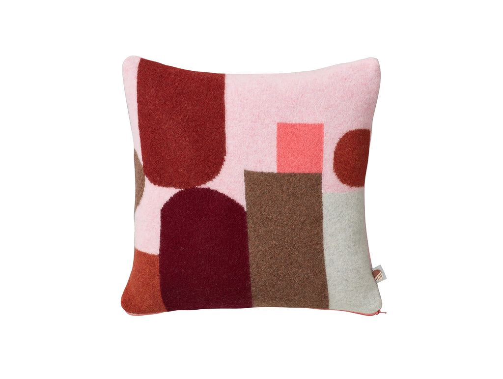 Pink Hue Cushion by Donna Wilson