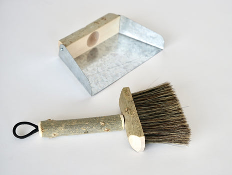 Potting Shed Brush and Pan by Geoffrey Fisher