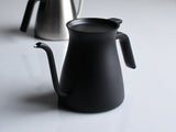 Matt Black Pour Over Kettle by Kinto