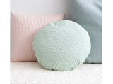 Provence Green Sitges Cushion by Nobodinoz