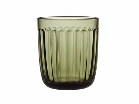 Moss Green Raami Tumbler - Set of 2 by Iittala
