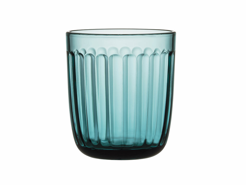 Sea Blue Raami Tumbler - Set of 2 by Iittala