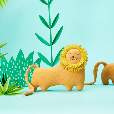 Richie the Lion by Donna Wilson