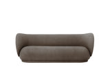 Rico 3-Seater Sofa in Brushed Brown by Ferm Living