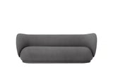 Rico 3-Seater Sofa in Brushed Grey by Ferm Living