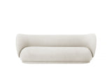 Rico 3-Seater Sofa in Brushed Off-White by Ferm Living