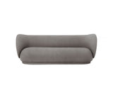 Rico 3-Seater Sofa in Brushed Warm Grey by Ferm Living