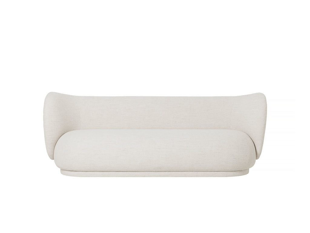 Rico 3-Seater Sofa in Bouclé Off-White by Ferm Living