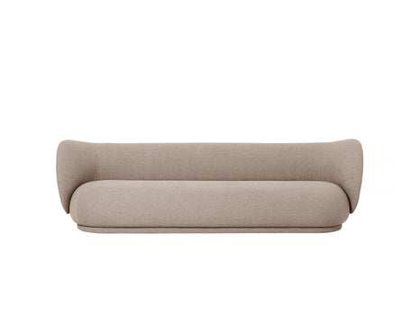 Rico 4-Seater Sofa in Sand Bouclé by Ferm Living