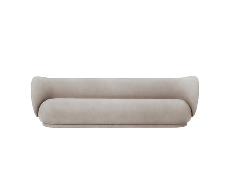 Rico 4-Seater Sofa in Sand Brushed by Ferm Living