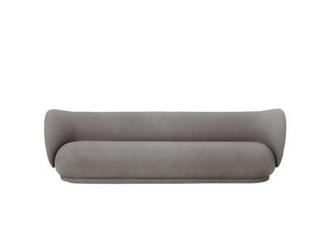 Rico 4-Seater Sofa in Warm Grey Brushed by Ferm Living