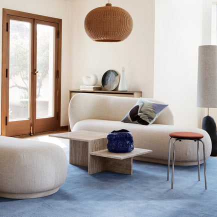 Rico Divan in Off-White Bouclé by Ferm Living