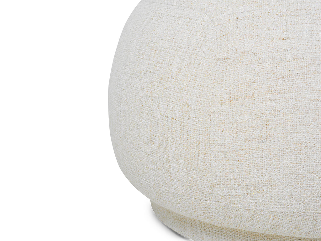 Rico Ottoman in Bouclé Off-White by Ferm Living