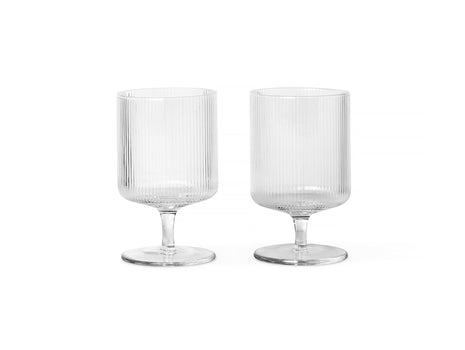 Ripple Wine Glasses - Set of 2 by Ferm Living