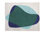 Blue/Green Serge Rug by Hartô