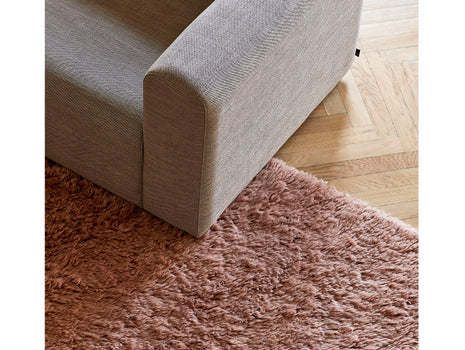 Rose Shaggy Rug by HAY