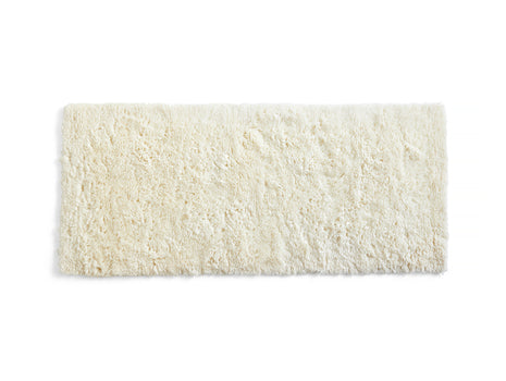 Cream Shaggy Rug by HAY