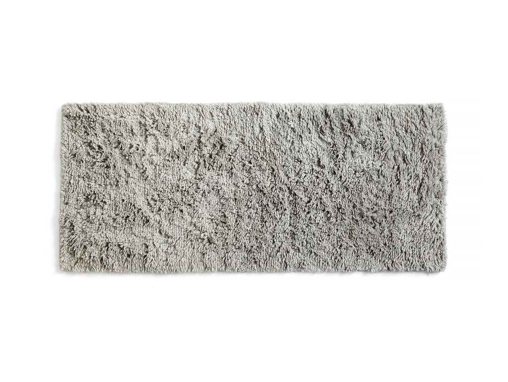 Warm Grey Shaggy Rug by HAY