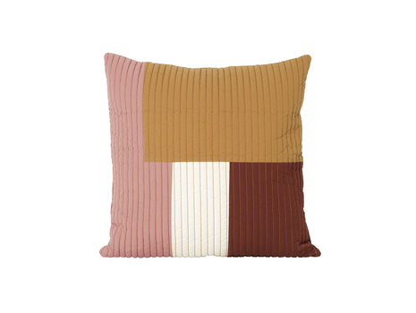 Mustard Shay Quilt Cushion 50 x 50 cm by Ferm Living