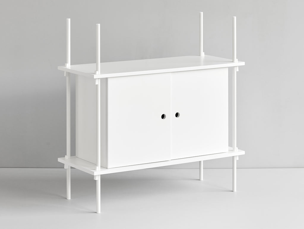 Shelving System - Cabinet - White