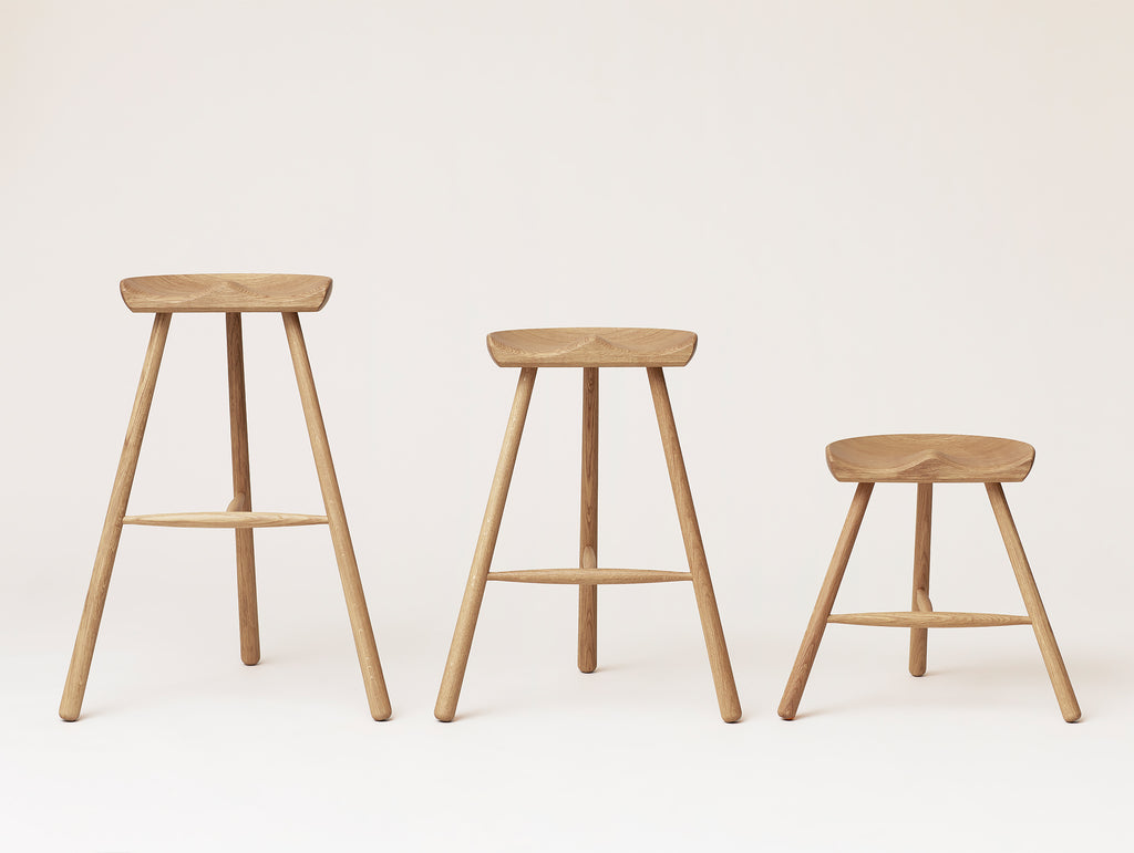 Shoemaker Chair No.78, No.68 and No.49 - White Oiled Oak