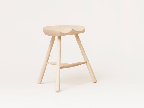 Shoemaker Chair No.49, White Oiled Beech