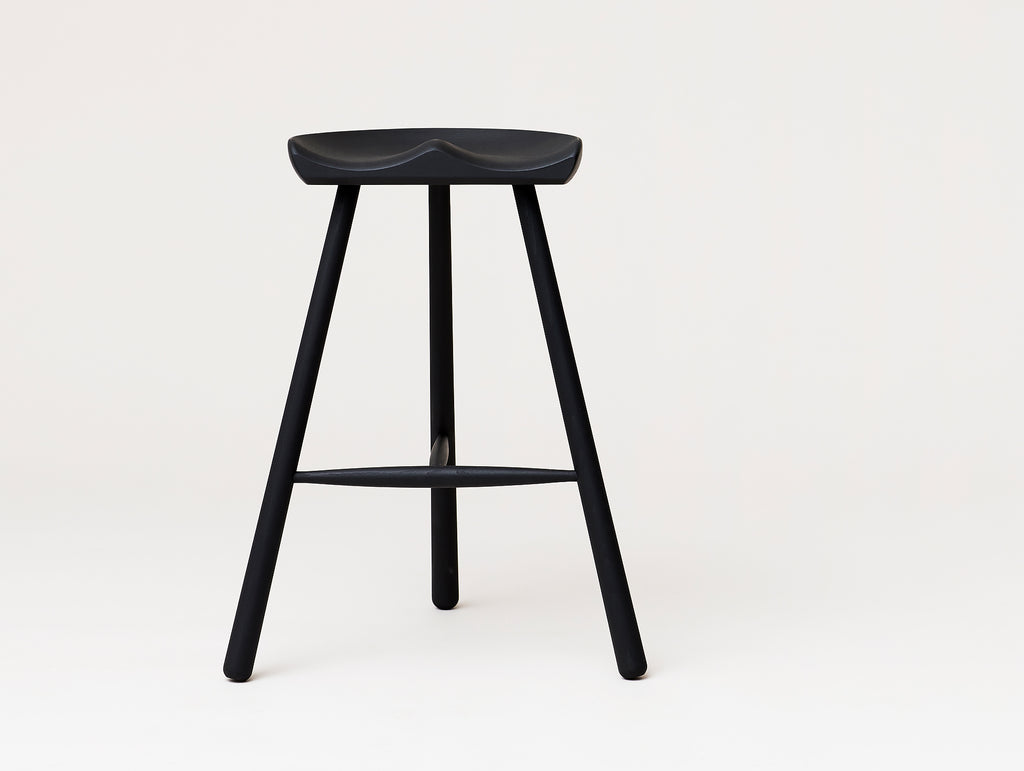 Shoemaker Chair No.68 - Black Stained Beech