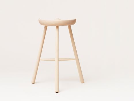 Shoemaker Chair No.68 - White Oiled Beech