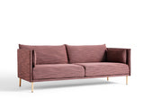 Silhouette Sofa - Oak base, Raas 662, Matching piping