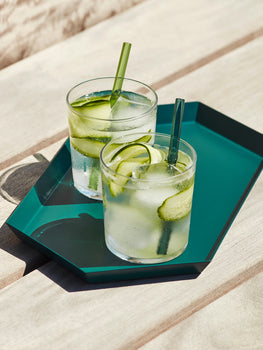 Sip 'Cocktail' Reusable Straw by HAY