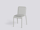 Sky Grey Palissade chair with Sky Grey cushion