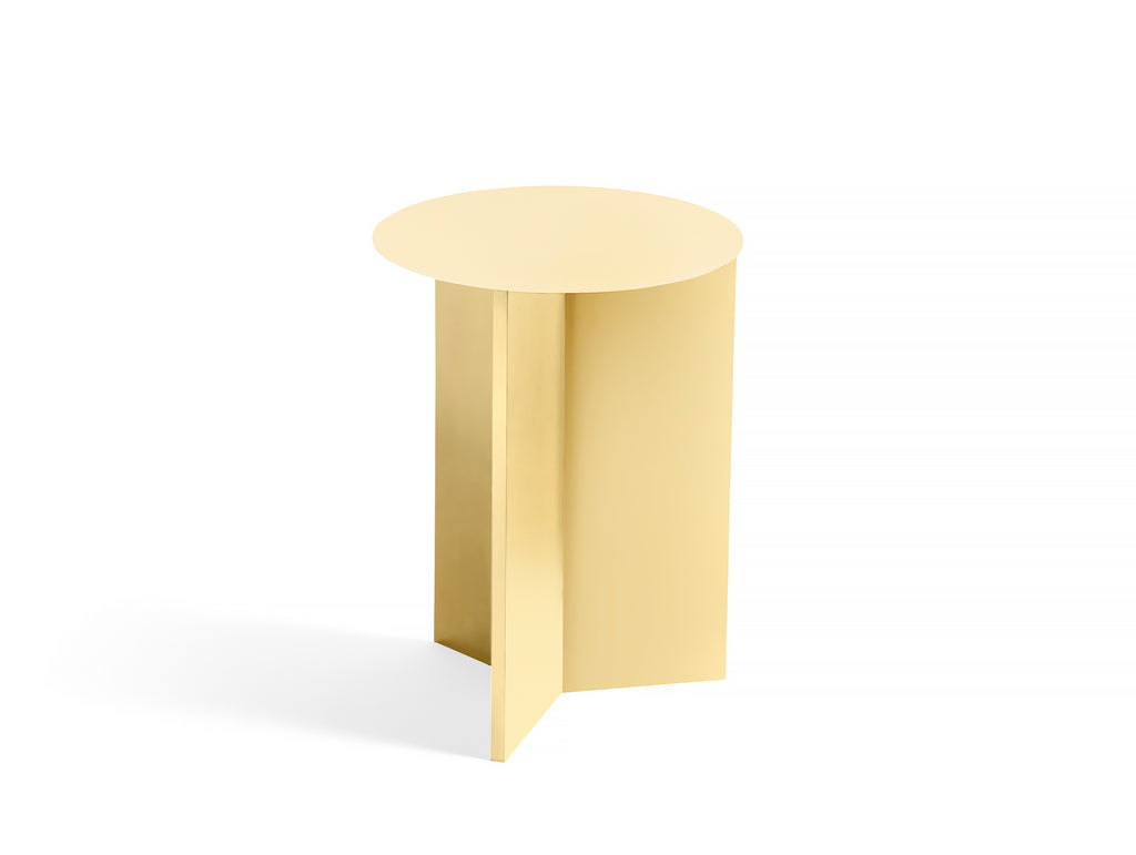 HAY Slit Table High - Light Yellow
