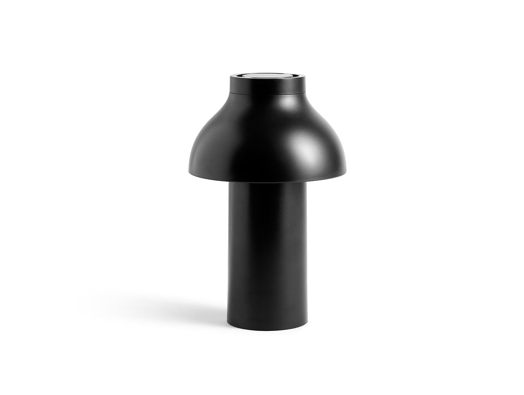 Soft Black PC Portable Lamp by HAY