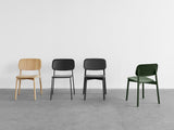 Soft Edge 12 (Wood Dining Chair)