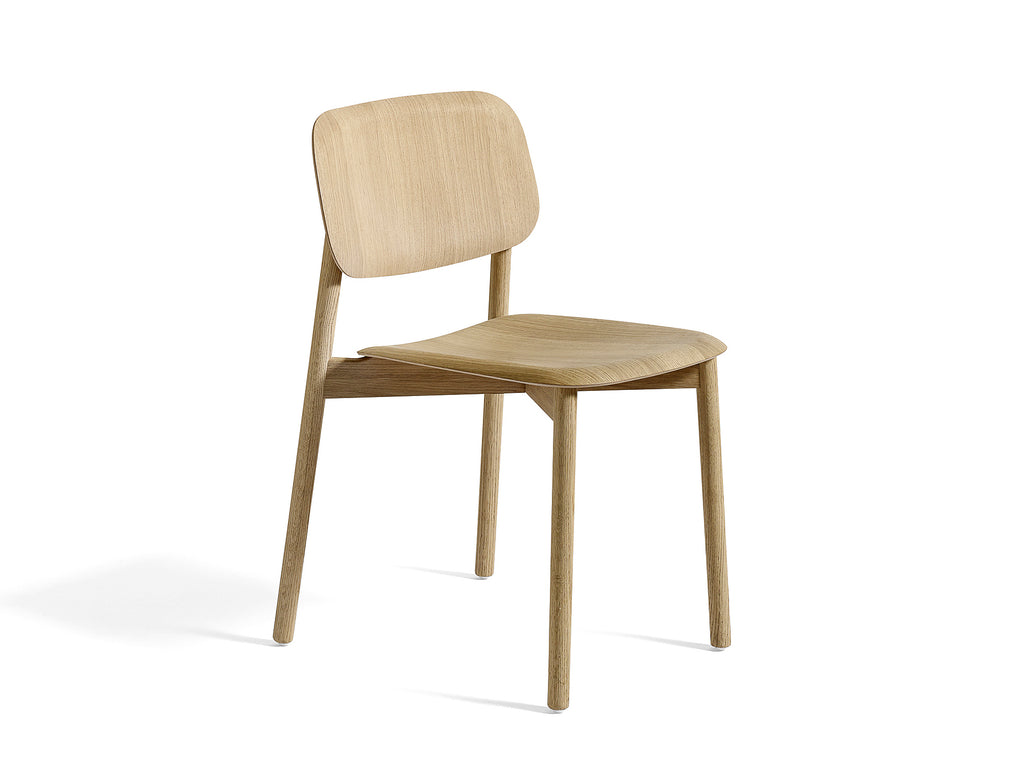 HAY Soft Edge 12 (Wood Dining Chair) - Matt Lacquered Oak